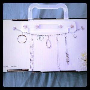 Chainlink Jewelry Storage